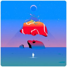 Surreal Dreamscapes: Illustrations by Victor Mosquera   Inspiration Grid   Design Inspiration