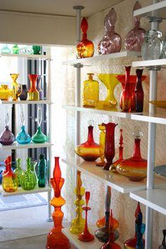 Vintage Blenko Glass #retrohomedecor