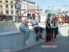 Lol hunhan on honeymoon! I miss hunhan, they're so distant and all i see is xuihan and setao