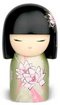 """Kimmidoll™  Yoko-2 - 'Expressive' - """"My spirit is open and free. Your expressive nature honours the honesty of my spirit. By always expressing your thoughts, feelings and actions openly and freely, you allow others to truly know you. May the integrity of your spirit bring to you friendships that are strong and true."""""""