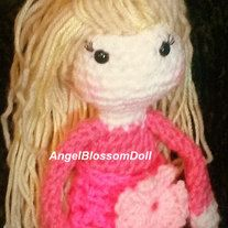 This is For a PDF pattern Not a finished product Lily Doll crochet doll with detailed instructions E-mail me with any Questions