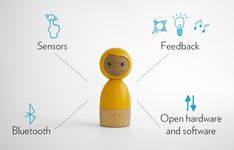 Avakai, Smart Wooden doll - Petit & SmallOnly have one Avakai? You can connect your Avakai to a mobile device that has the free Avakai app installed.