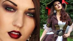 get the best way to create sexy pirate makeup fr your halloween look in here!