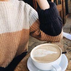 @kamplainnn ❃ fall winter style sweater neutrals