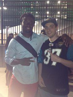 Jacksonville Jaguars SS #37 Jonathan Cyprien (August 2013 at MetLife Stadium in East Rutherford, NJ)