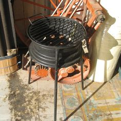 Rim Grill - Upcycle car parts - Upcycle Car Parts - Reuse Recycle Repurpose DIY DIY using parts from Cars, Motorcycles, Trucks, and more. -- Pin shared by Automotive Service Garage in Sarasota, FL -https://www.facebook.com/AUTOREPAIRSARASOTA