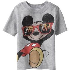 Mickey Mouse shirt!