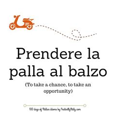 Day 28 of 100 Days of Italian Idioms by instantlyitaly.com