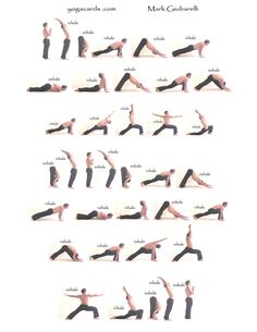 Pinner said - I did this Yoga sequence for an hour everyday for a year...and LOVED it. Seriously improved my overall health.