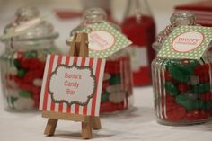 Christmas Candy Party Favors #christmascandy #partyfavors
