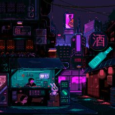 Cyberpunk Aesthetic, Cyberpunk City, Arte Cyberpunk, City Aesthetic, Cyberpunk 2077, Pixel Art Background, 8 Bit Art, Vaporwave Art, Anime Pixel Art