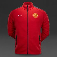 Rare Nike Manchester United 2014/15 Men's Tech Jacket Size M Ref. 62674 654 in Sporting Goods, Tennis & Racquet Sports, Clothing, Shoes & Accessories   eBay