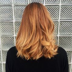 Strawberry Blonde Bayalage