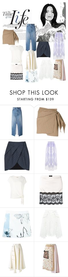 """""""The Time of her Life!"""" by lalu-papa ❤ liked on Polyvore featuring Golden Goose, Lilly Sarti, Alcoolique, By Malene Birger, Maison Close, Gloria Coelho, Sacai and Loewe"""