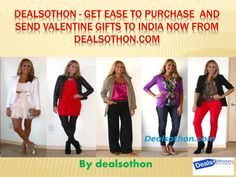 Dealsothon - Get Ease to Buy and Purchase Valentine Gifts to India now From Dealsothon.com! Dealsothon.com is one of the prominent and mainstream web based gifting entryways of India. For the clients the entry is a flawless place to shop endowments, blossoms and cakes on the web. However now it is putting forth the office to send Valentine Gifts to India. With each passing day and Valentine\'s Day drawing closer, partners are getting much occupied in the inquiry of best Valentine\'s ...