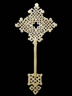 Ethiopian hand cross