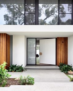You can find the magnificent exterior design ideas to get your best home. This article will help you to see the best exterior design with a… Continue Reading → Door Design, Exterior Design, Interior And Exterior, Exterior Doors, Room Interior, Exterior Rendering, Entrance Design, Australian Architecture, Architecture Design