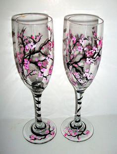 SALE  / Spring Wedding Cherry Blossoms by SharonsCustomArtwork, $35.00