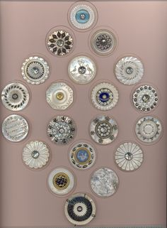 18th Century Pearl Buttons - 2009 ~ I want to frame some of my old buttons