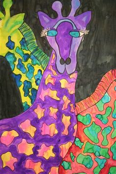 Kim & Karen: 2 Soul Sisters: Betsey Fowler's Art - WOW! What a great unit to teach any grade level