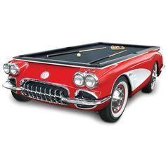 The 1959 Corvette Billiards Table - Hammacher Schlemmer from Hammacher Schlemmer