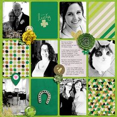 Layout using {Feeling Lucky} by Amanda Yi Designs available at The Digital Press http://shop.thedigitalpress.co/Project-Spring-Feeling-Lucky.html