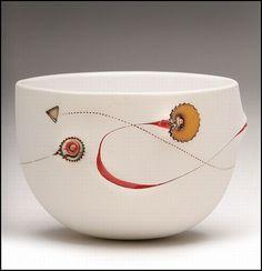 scarrified Palm bowl | by IMISO CERAMICS / LIFE STYLE