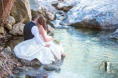 Romantic wedding lagoon..