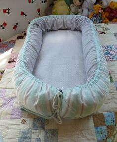 Jewell's Custom Quilting and Projects : Baby Nest... Tutorial by Lorna