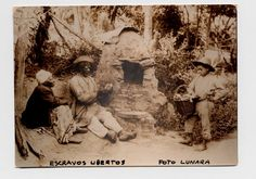Historic photos of newly freed slaves ...- Brazil - 1895.