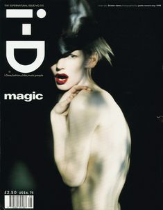 The Supernatural Issue No. 175 May 1998 Kirsten Owen by Paolo Roversi