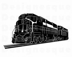 A train EMD Southern PacificPaper model kitPapercraft Train Clipart, Train Vector, Phoenix Vector, Train Template, Locomotive Engine, Choo Choo Train, Steam Railway, Amazon Merch, Train Engines