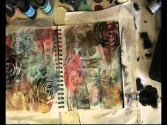 Steampunk Art Journal - YouTube