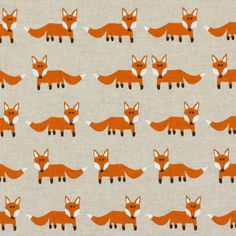 Volpe Standing fox 1 - Tessuti arredo con animalifavorable buying at our shop Fox Fabric, Fabric Animals, Animal Bag, Fabric Decor, Sewing Tutorials, Squirrel, Decoration, Textiles, Kids Rugs