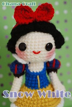 ★★This is a crochet pattern, NOT the finished handmade doll★★