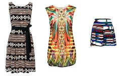 Tribal prints...love love love this for summer 12'