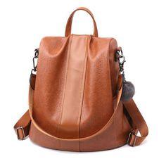 e20521e2d3 Herald Fashion Women Anti-theft Backpack Waterproof Rucksack Shoulder  School Bag Fashion Backpacks For Women