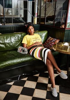 """Jessica Williams: """"Your Mouth Is the Biggest Weapon That You Have"""" Jessica James, Jessica Williams, Black Girl Aesthetic, Future Wife, Superfly, Bold Prints, Minimal Fashion, Ethical Fashion, New Movies"""