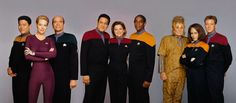 Voyager - Tuvok and Captain Janeway voice Zathrian and Flemeth respectively.  I am so happy!