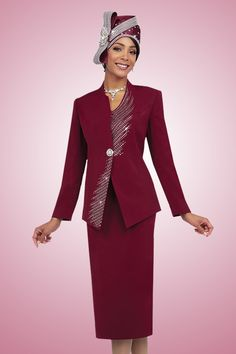 d9fcefde55 10% Online Discount On All Our Dresses   Suits. Women s Church Suit by  Fifth Sunday ...