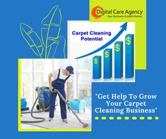 Digital Care Agency focuses on growing your carpet cleaning business successfully with online marketing services. Whether you want to increase conversions, traffic to your website, or both, we can help you design an Internet marketing campaign that can help you reach your goals.  Are you ready to see what our digital marketing services can do for your business? Contact us now. #digitalcareagency #seoexpert #hightraffic #webdevelopmen #onlinemarketing Online Marketing Services, Internet Marketing, Care Agency, Carpet Cleaning Business, Website Optimization, Business Contact, How To Clean Carpet, Web Development, The Help