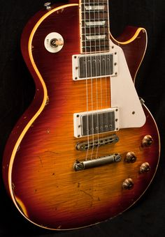 2010 Gibson Les Paul Standard refinished and aged by Nash Guitars.