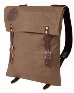 Made in the USA, this may be the prefect city biking back pack. I'm dreaming of it in tangerine.