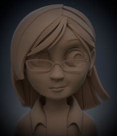 ArtStation - Practice sculpt03, Mike Smolka