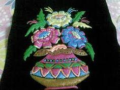 a flowervase Emboss Painting, Types Of Painting, Flower Vases, Emboss, Vase