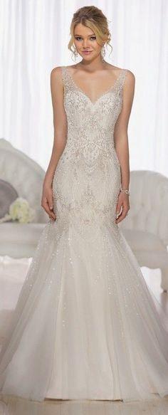 Wedding Dress by Essense of Australia #weddingdress #bridalgown #weddinggown #bride #bridal #wedding #weddings #weddingdresses