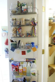 the art closet by sew liberated, via Flickr  must. organize. art. supplies.