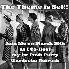"""""""WARDROBE REFRESH PARTY"""" The Theme is Set. Now it's time for the Fun to Start. I will be Looking thru Posh Closets for some those Magnificent  Items that go with the theme. Please tag me if you have the PERFECT item for """"WARDROBE REFRESH""""  I'm looking forward to finding those Perfect  """"HOST PICK"""" Items.  I will only be Picking from Posh Closets that follow Posh Rules. With that being said, Let's Start Tagging!!! Host Picks Other"""