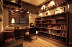 書斎の施工例|自分デザイナーズマンション 【宝不動産】新築分譲マンション