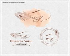Feather logo design,Feather Premade Logo Design,Lash Logo, Lash Extension Logo, Brow Logo, Premade, Watermark logo, Makeup Artist Lashes Logo, Bold Brows, Photography Logo Design, Logo Stamp, Business Names, Background Images, Feather, About Me Blog, Place Card Holders